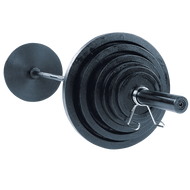 Body-Solid 400# Olympic Weight Set OSB400S