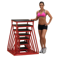 "Body Solid 6-42"" Plyo Box Set BSTPBS5"