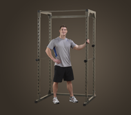 Best Fitness Power Rack & FID Bench & 125# Weight Set