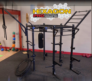 Body Solid Hexagon Pro Training Rig  SR-HEXPROCLUB Plus Medicine Ball Package