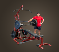 Body Solid Corner Leverage Gym GLGS100P4