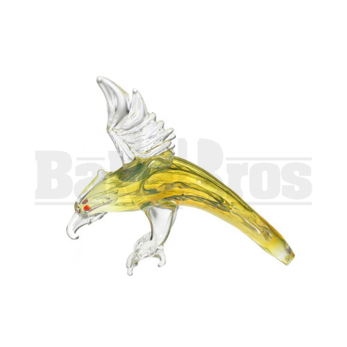 "ANIMAL HAND PIPE EAGLE DESCENDING 5"" ASSORTED COLORS"