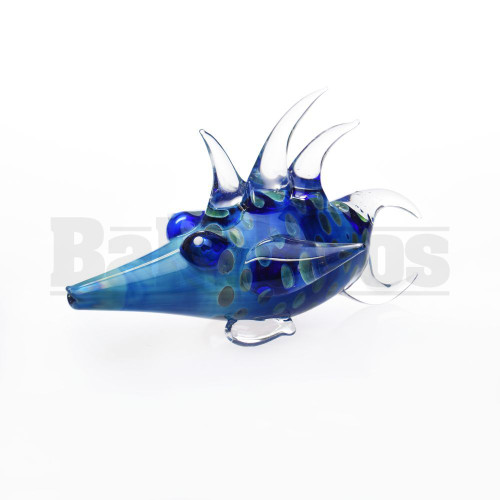 """ANIMAL HAND PIPE EXOTIC FISH 5"""" ASSORTED COLORS"""