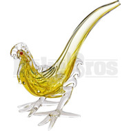 "ANIMAL HAND PIPE AGGRESSIVE ROOSTER 4"" ASSORTED COLORS"