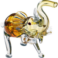 "ANIMAL HAND PIPE RUNNING ELEPHANT 5"" ASSORTED COLORS"