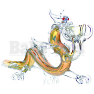 "ANIMAL HAND PIPE ANGRY DRAGON 10"" ASSORTED COLORS"