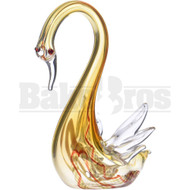 "ANIMAL HAND PIPE SUSPICIOUS SWAN 4"" ASSORTED COLORS"