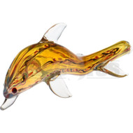 "ANIMAL HAND PIPE DOLPHIN 6"" ASSORTED COLORS"