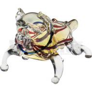 "ANIMAL HAND PIPE GUILTY BULLDOG 5"" BLUE"
