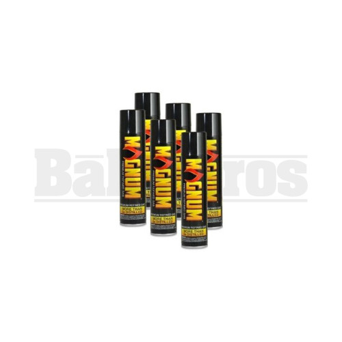MAGNUM PREMIUM REFINED GAS 5X PLUS PURIFIED BUTANE CANISTER Pack of 12 300 ML