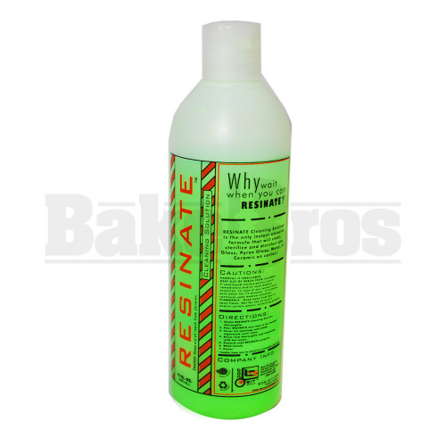 RESINATE PIPE CLEANER GREEN UNSCENTED 12 FL OZ