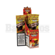 JUICY JAY'S DOUBLE 2 WRAPS MANGO PAPAYA Pack of 25