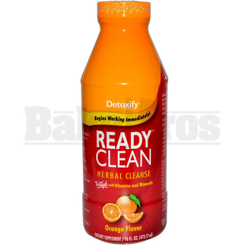 DETOXIFY READY CLEAN ORANGE FLAVOR 16 FL OZ