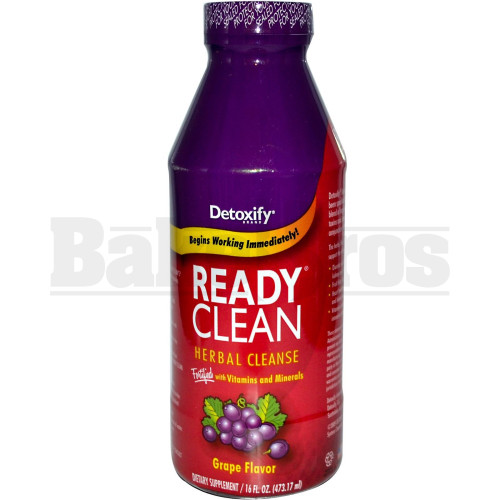 DETOXIFY READY CLEAN GRAPE 16 FL OZ