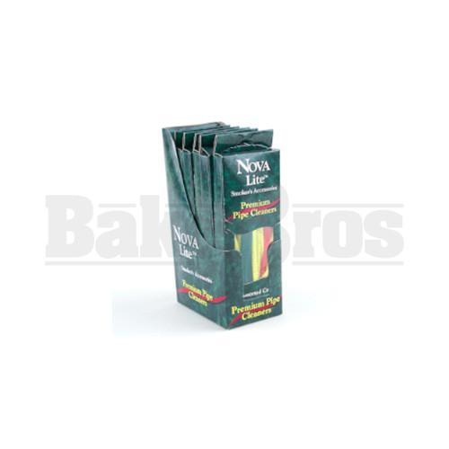 """NOVA LITE PREMIUM PIPE CLEANERS 6"""" 60 PER PACK HARD TAN Pack of 1"""