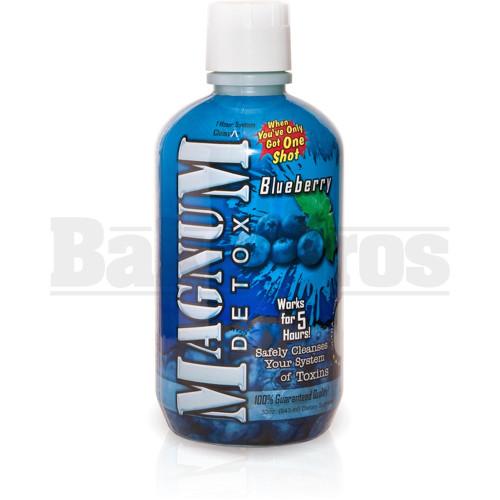 MAGNUM DETOX CLEANSER BLUEBERRY 32 FL OZ