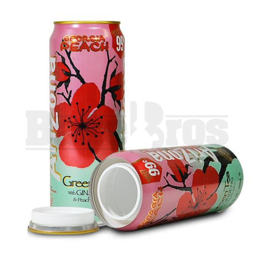 STASH SAFE CAN ARIZONA GREEN TEA W/ GINSENG & PEACH 23 FL OZ