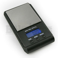 WEIGHMAX ELECTRONIC DIGITAL POCKET SCALE W-GX SERIES 0.1g 650g BLACK