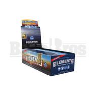 ELEMENTS ROLLING PAPERS DOUBLE PACK 100 LEAVES UNFLAVORED Pack of 24