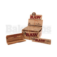 RAW ROLLING PAPERS CLASSIC CONNOISSEUR KING SIZE W/ TIPS 32 LEAVES UNFLAVORED Pack of 24