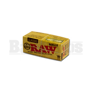 RAW ROLLING PAPERS CLASSIC KING SIZE ROLL 3 METERS UNFLAVORED Pack of 12