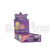 JUICY JAY'S FLAVORED PAPERS 32 LEAVES 1 1/4 GRAPE Pack of 24