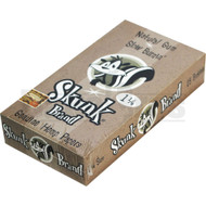 SKUNK BRAND ROLLING PAPERS 1 1/4 50 LEAVES UNFLAVORED Pack of 25