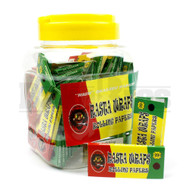RASTA WRAPS ROLLING PAPERS 1 1/4 UNFLAVORED Pack of 50