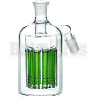ASHCATCHER 11 ARM TREE PERC 45* ANGLED JOINT GREEN MALE 14MM
