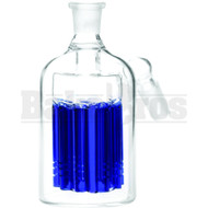 ASHCATCHER 11 ARM PERC 45* ANGLED JOINT BLUE MALE 18MM