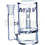 MAVERICK ASHCATCHER TURBINE DISK L CONFIG 90* JOINT CLEAR MALE 14MM