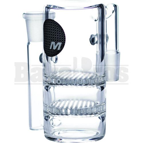 MAVERICK 2 HONEYCOMB ASHCATCHER CLEAR MALE 14MM