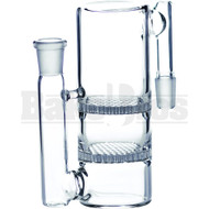 ASHCATCHER 2X HONEYCOMB DISK PERC S CONFIG CLEAR MALE 14MM