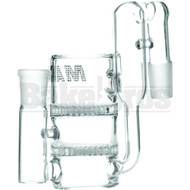 MAVERICK ASHCATCHER 2 HONEYCOMB RECYCLER L CONFIG CLEAR MALE 18MM