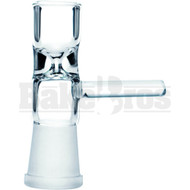 FEMALE BOWL WITH HANDLE CLEAR 14MM