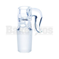 ROOR CYLINDER BOWL SMALL WITH BULLHORN HANDLE CLEAR 18MM