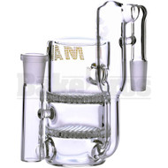 MAVERICK ASHCATCHER 2 HONEYCOMB RECYCLER L CONFIG CLEAR MALE 14MM