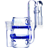 Maverick Ashcatcher 2 Honeycomb Recycler L Config Blue Male 14mm