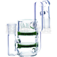 Maverick Ashcatcher 2 Honeycomb Recycler L Config Green Male 18mm
