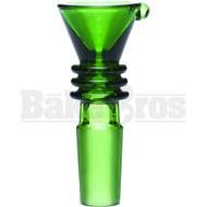 BOWL FUNNEL 3 RINGS GREEN 14MM