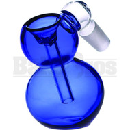 ASHCATCHER WITH BOWL BLUE MALE 18MM