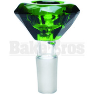 BOWL BIG DIAMOND GREEN 14MM
