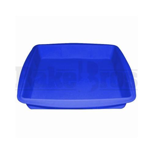"""FOGG SILICONE WAX TRAY BLUE 8""""L X 8""""W X1""""H"""