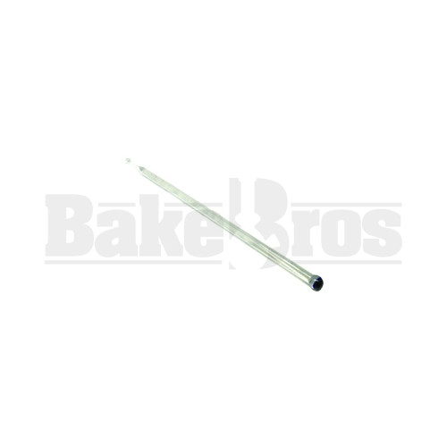 GLASS VAPOR TOOL FAT TUBE CLEAR 6""
