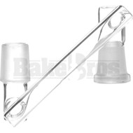 FEMALE TO MALE DROPDOWN ADAPTER CLASSIC CLEAR MALE 18MM 14MM FEMALE