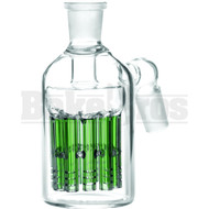 ASHCATCHER 11 ARM PERC 45* ANGLED JOINT GREEN MALE 18MM