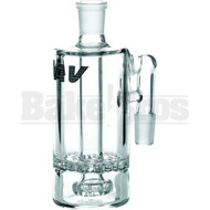 MAVERICK ASHCATCHER HONEYCOMB SHOWERHEAD PERC 90* JOINT CLEAR MALE 18MM
