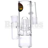 "MAVERICK ASHCATCHER ATOMIC L CONFIG 1.5"" DIAM CLEAR MALE 18MM"