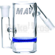 MAVERICK ASHCATCHER HONEYCOMB ANGLED JOINT BLUE MALE 14MM