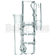 "ASHCATCHER 1.5"" DIAMETER 3X HONEYCOMB L CONFIGURATION CLEAR MALE 18MM"